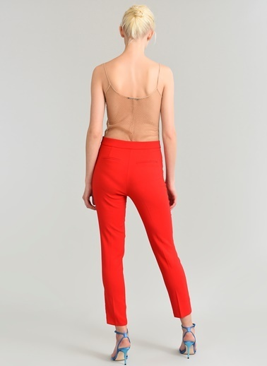 People By Fabrika Basic Pantolon Kırmızı